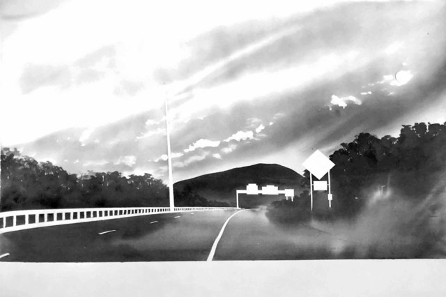 , 'Route 116, near Sunderland, Massachusetts (from 100 Views Along the Road),' 1983, Bruce Silverstein Gallery