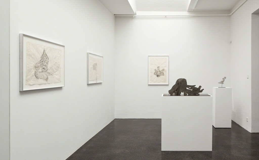 KIKI SMITH. Reflection, Installation view, Barbara Gross Galerie, Munich, 2018,