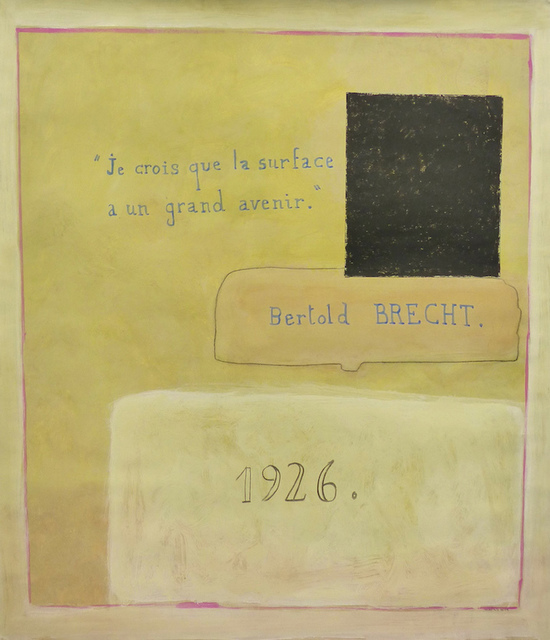 Jean-Michel Alberola, 'Bertol Brecht 1926', 2018-19, Drawing, Collage or other Work on Paper, Mixed media on paper, Galerie Maïa Muller