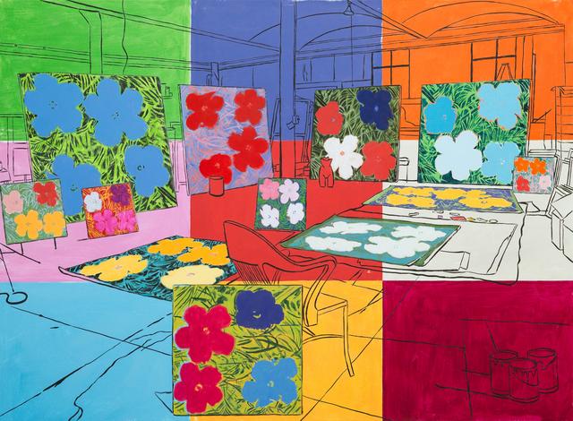 Damian Elwes, 'Warhol's Factory (New York, 1965)', 2018, Modernism Inc.
