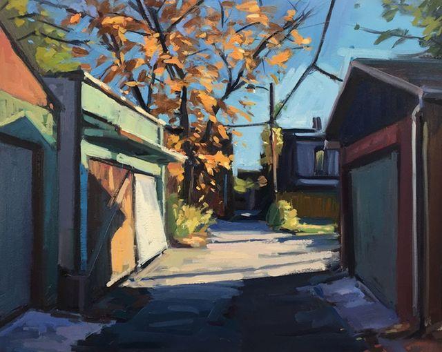 Brian Harvey, 'Green Garage', 2017, Abbozzo Gallery