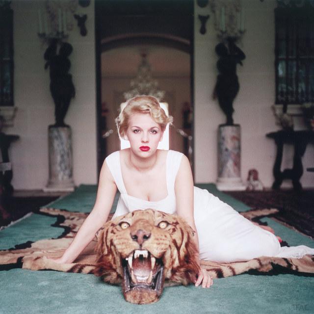 Slim Aarons, 'Beauty and the Beast', 1959, Photography, Lambda print, IFAC Arts