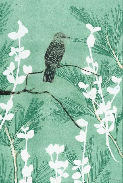 , 'Listen to the Songs of the Garden,' 2018, Queenscliff Gallery & Workshop