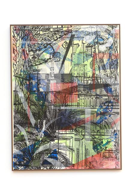 , 'Blick aus dem Garten,' 2018, Galerie Britta von Rettberg