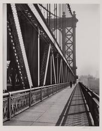 Manhattan Bridge, walkway