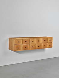 Early wall-mounted chest of drawers