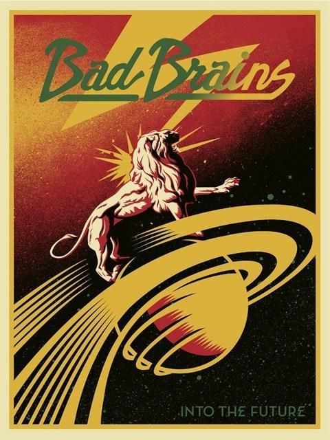 Shepard Fairey, 'Bad Brains', 2012, AYNAC Gallery