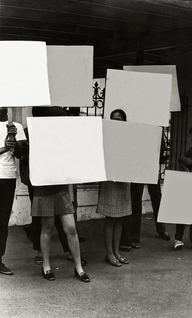 , 'Erased Slogans,' 2014, 1335MABINI