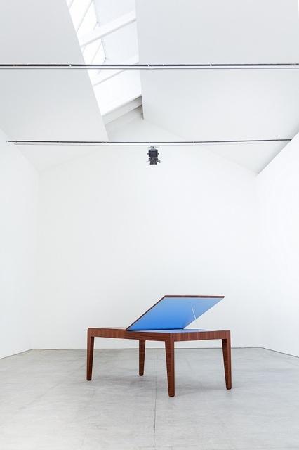 , 'Tavolo con colore nascosto,' 2014, Design Gallery Milano