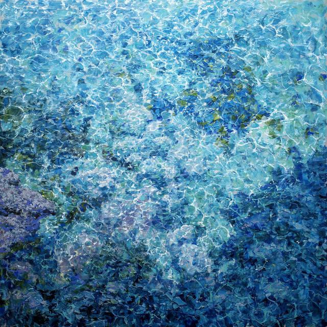 Antonio Sannino, 'Shining #007', 2019, Liquid art system