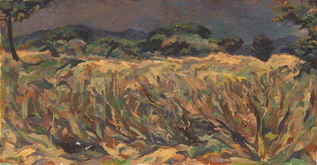 , 'Cornfield at dusk, Provence,' ca. 1969, Robert Eagle Fine Art