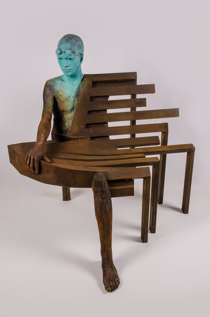 , 'Big Bench III,' 2017, Cafmeyer Gallery