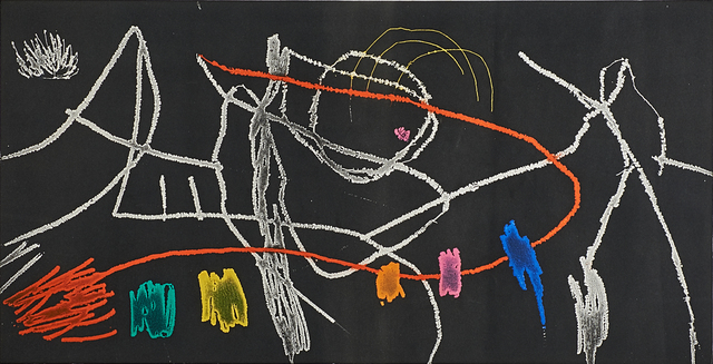 Joan Miró, 'Untiled from Gravures Pour une Exposition from a portfolio of 4 prints', 1973, Rago/Wright