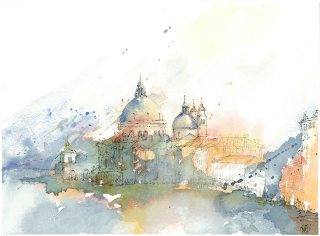 , 'Santa Maria della Salute I,' 2018, Spalding Nix Fine Art