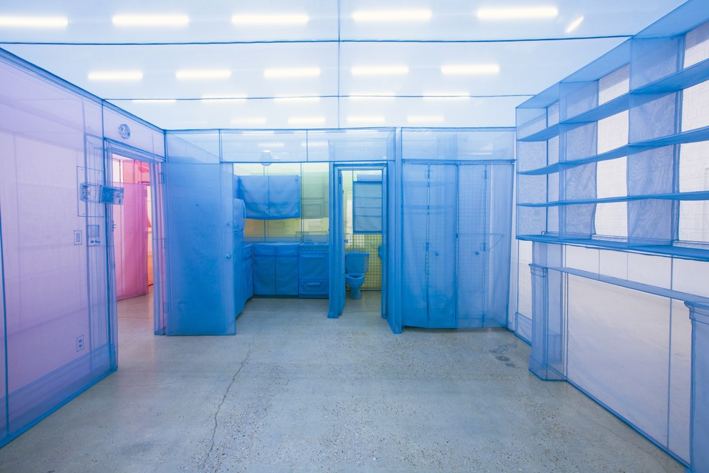 "Installation view of ""Do Ho Suh"" at Museum of Contemporary Art San Diego, San Diego (2016) Photograph by Brian Fitzsimmons."