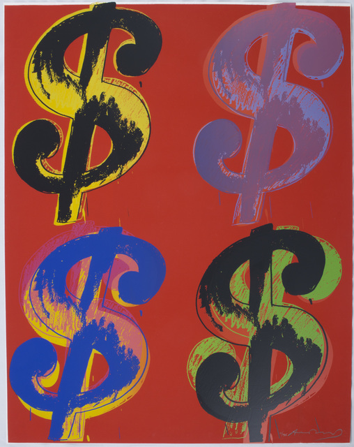 , '$ (Quadrant) (F&S II.283-4),' 1982, Merritt Gallery