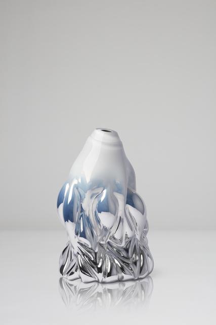 , 'Goldfish print, soft white metallic,' 2018, CFHILL
