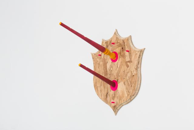 , 'Untitled (Taxidermie Wall Hooks),' 2018, Hamiltonian Gallery