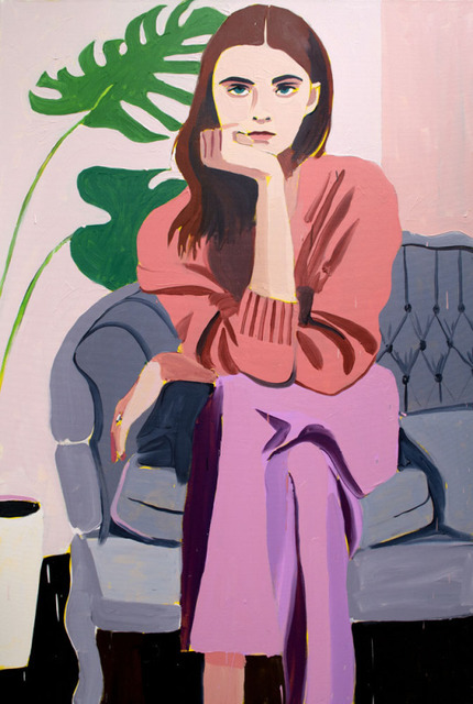 Patrick Puckett, 'Woman on a Sofa', 2019, Wally Workman Gallery