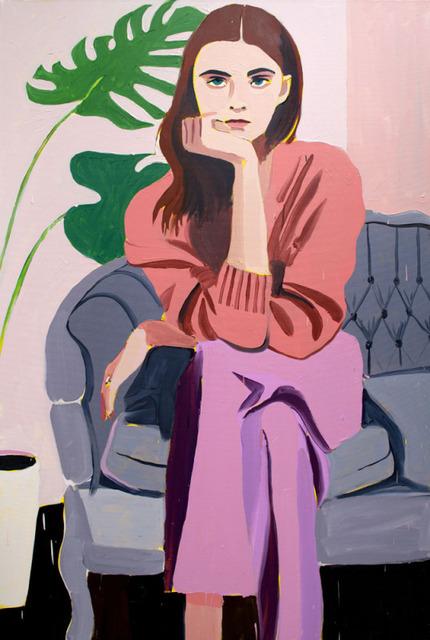 , 'Woman on a Sofa,' 2019, Wally Workman Gallery