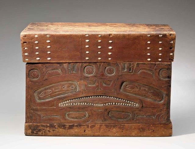 , 'Chest; Alaska,' ca. 18, Newark Museum