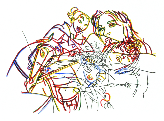 Ghada Amer, 'Sleeping Beauty Without Castles', 2002, Lower East Side Printshop