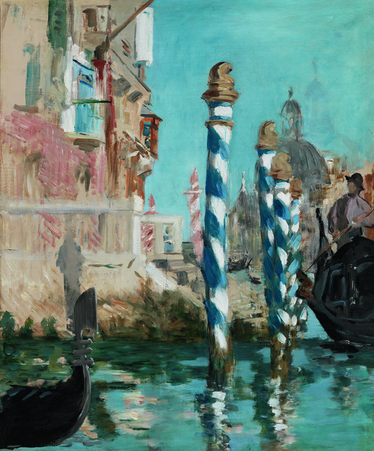 , 'View in Venice - The Grand Canal,' 1874, Seattle Art Museum