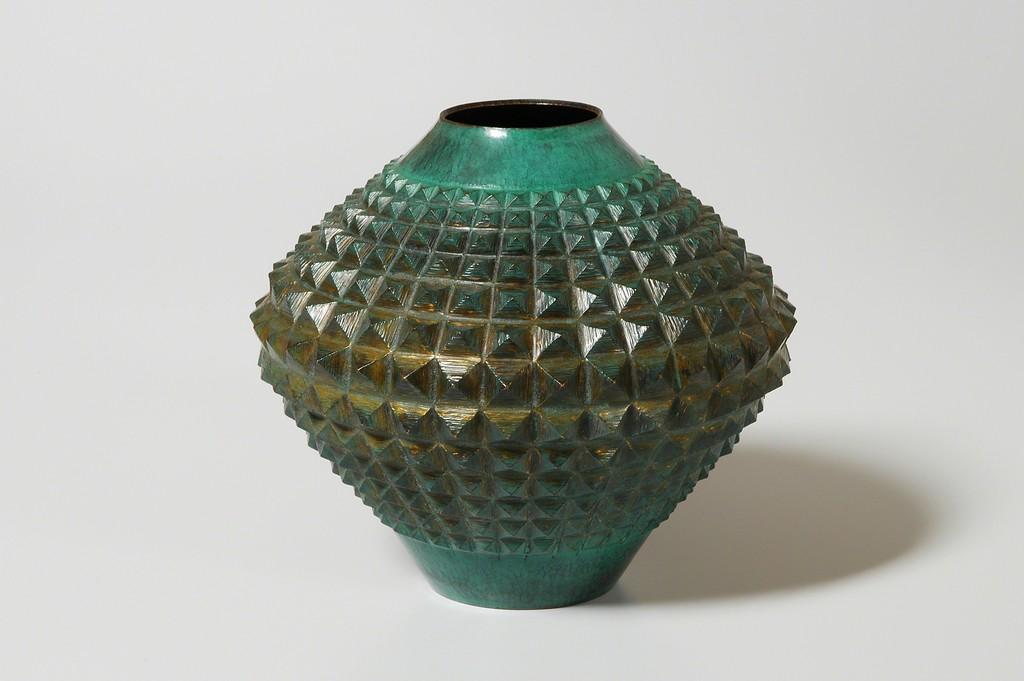 Hammered Vase 21