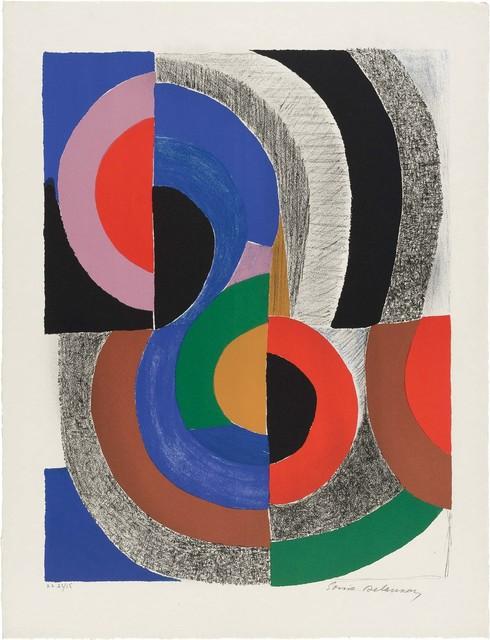 Sonia Delaunay, 'HIPPOCAMPE', 1971, Doyle