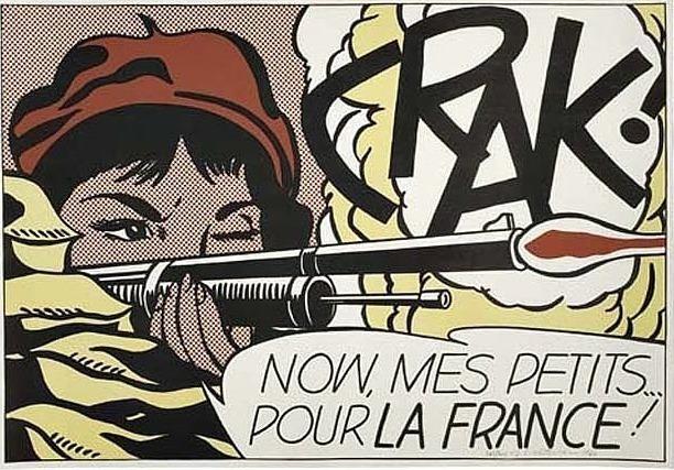 Roy Lichtenstein, 'Crak!', 1964, David Benrimon Fine Art