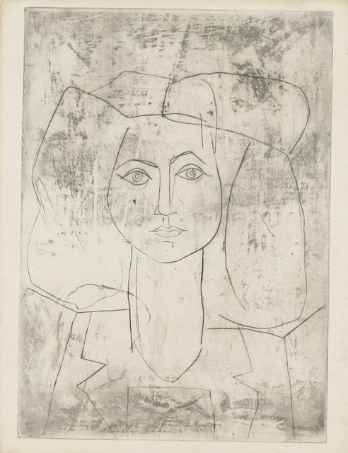 Pablo Picasso, 'Portrait de Françoise, en costume teilleur', ca. 1946, John Szoke