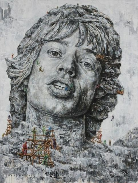 , 'The Time They Are A - Changin #7 Mick Jagger,' 2011, Ode to Art