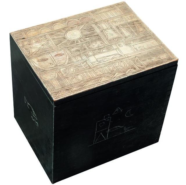 , 'Caja constructiva,' 1954, Galería de las Misiones