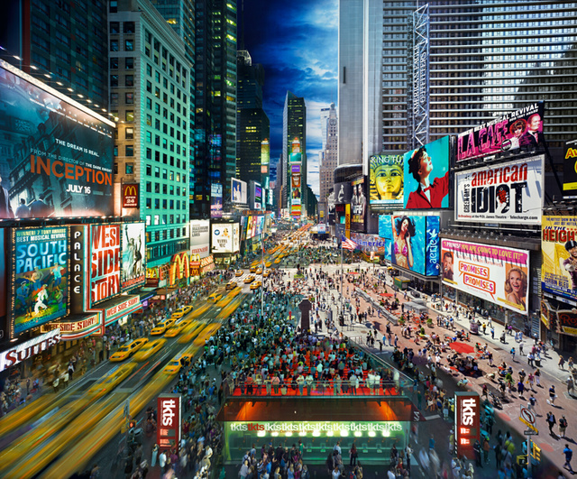 Stephen Wilkes, 'Times Square, New York', 2010, Bryce Wolkowitz Gallery