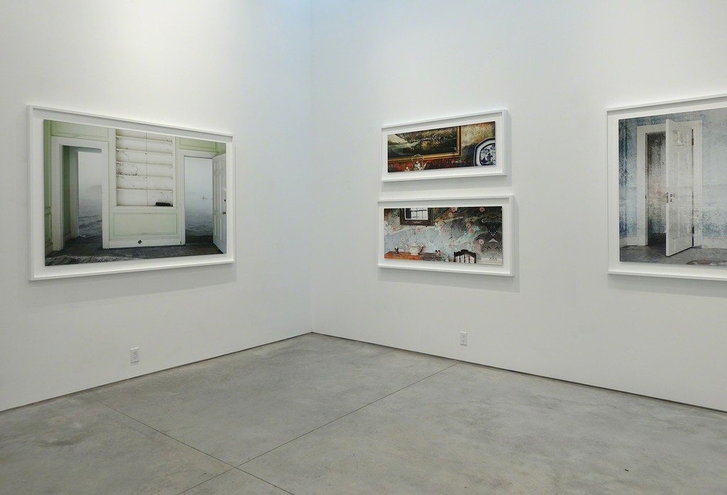 Installation view: Looking Out, Looking In: Jeffery Becton