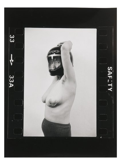 , 'A Picture of Health: Helmet shot,' 1982, Richard Saltoun