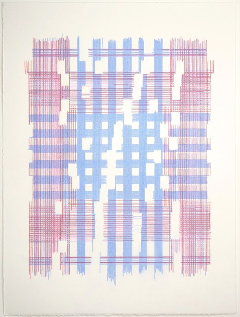 Laura Kaufman, 'The Most Mysterious Fact (Plaid)', 2018, MARQUEE PROJECTS
