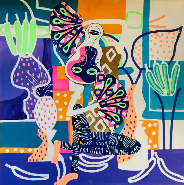 Frantisek Florian, 'African Figures 8', 2019, design art concepts