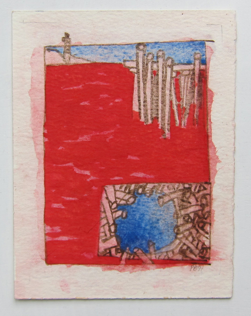 , 'Red Harbor,' 1991, Albert Merola Gallery