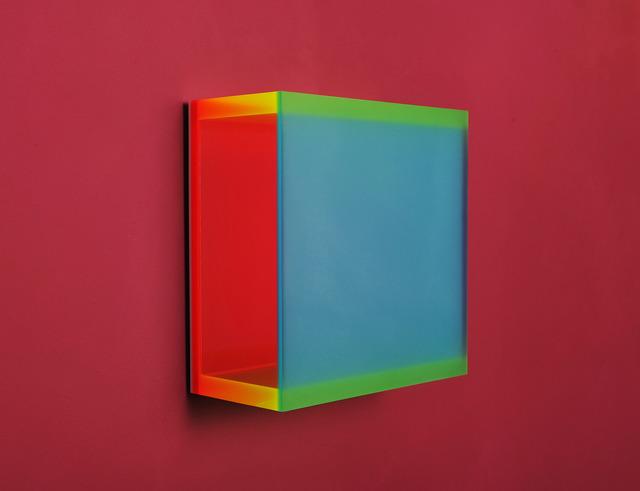 Regine Schumann, 'color mirror small satin laguna', 2014, Galerie Floss & Schultz