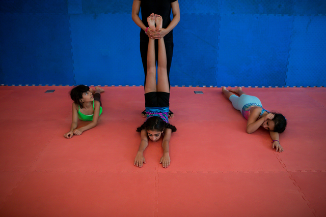 , 'Mai's daughter, weekly attends a young girls' gym in Jeddah,' 2015, Fort Worth Contemporary Arts