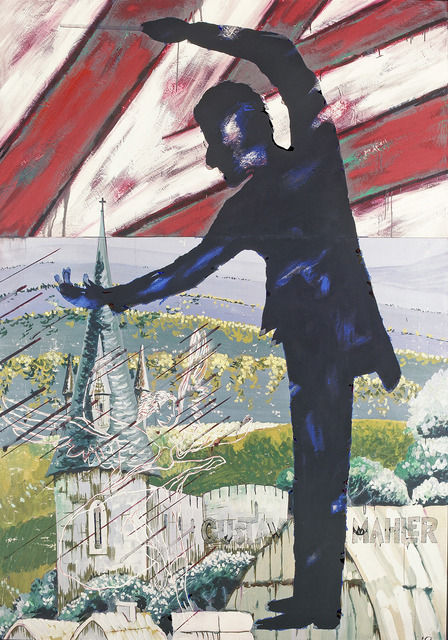 Edgar Franceschi, 'Gustav Mahler Conducting', 2013, Carter Burden Gallery