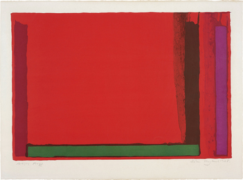 John Hoyland, 'Small Red,' 1968, Phillips: Evening and Day Editions