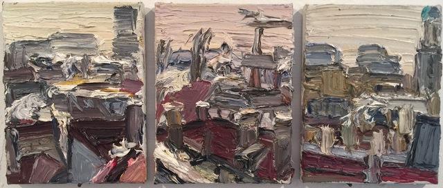 , 'Winterliches Dach-Trio,' 2007, Galerie Kornfeld