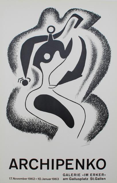 Alexander Archipenko, 'Le sculpteur (The Sculptor)', 1962, Sylvan Cole Gallery