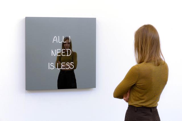 , 'All I Need Is Less (Handwritten),' 2019, Galleri Nicolai Wallner