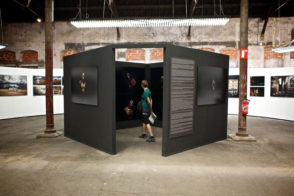 """Exhibition at """"Rencontres d'Arles"""" solo show 2013"""