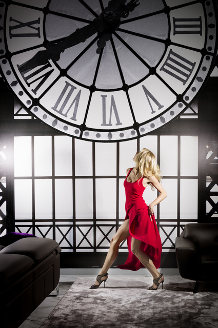 David Drebin, 'Clockwatcher', 2016, Photography, Épreuve couleur / C-print, Galerie de Bellefeuille