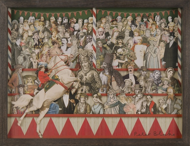 , 'Circus Collage Left ,' 2013, Paul Stolper Gallery
