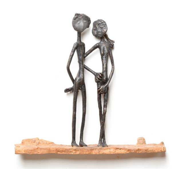 Ruth Bloch, 'Couple in Love', 2019, Expressions Art Gallery